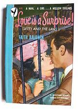 Faith Baldwin   Love Is a Surprise!   Bantam edition: May 1948   pb
