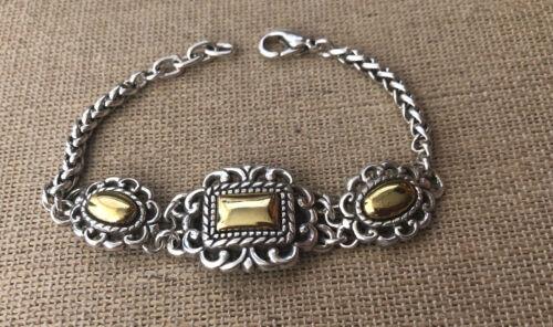 Brighton Vintage Two Tone Bracelet