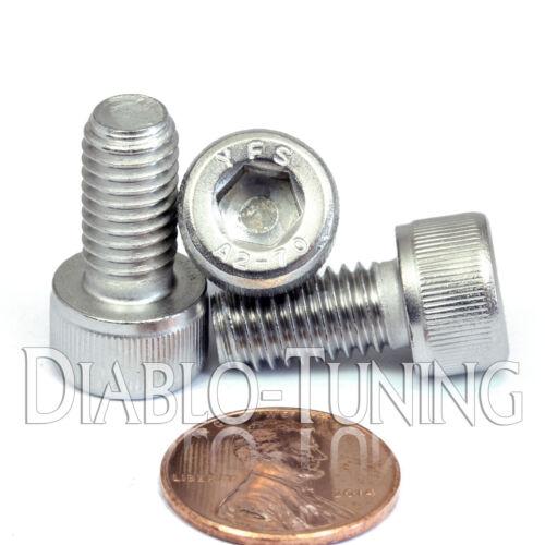 8mm x 1.25 x 16mm Qty 10 DIN 912 Stainless Steel SOCKET HEAD CAP Screws M8