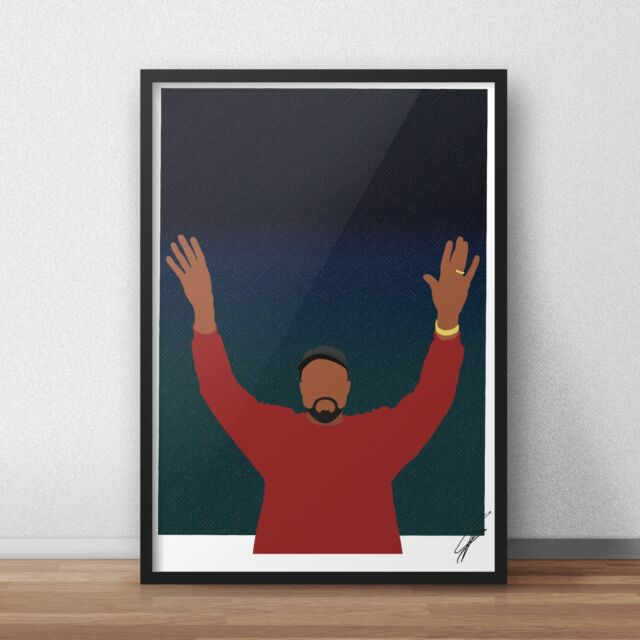 MBDTF My Beautiful Dark Twisted F Kanye West Artwork Poster Print A4 A3