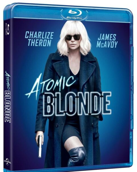 Atomica Bionda (blu-ray) Con Charlize Theron, James Mcavoy