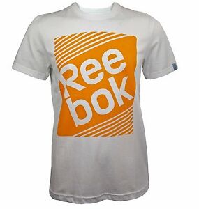 Image is loading Men-039-s-New-Reebok-Logo-T-Shirt-