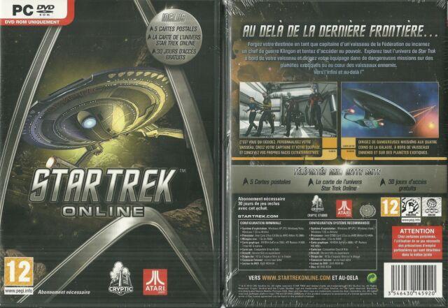 RARE / JEU PC - STAR TREK / NEUF EMBALLE FRANCAIS