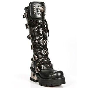 Ver Título Original S1 Detalles De Para New Punk M1030 Rock Biker Boots Mujer Black Newrock Gothic kZwXuTlOPi