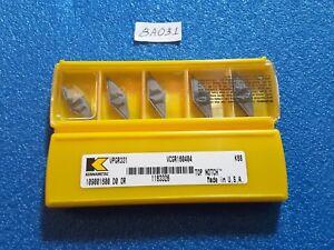 5pcs KENNAMETAL  VPGR331 K68 VPGR160404   CARBIDE  INSERTS New