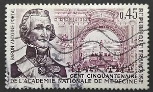 FRANCE STAMPS - Anniversary of National Academy of Medicine, 1971, used - Reda, Polska - FRANCE STAMPS - Anniversary of National Academy of Medicine, 1971, used - Reda, Polska