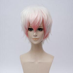 Free Wig CAP Neon Genesis Evangelion Nagisa Kaworu Anime Cosplay Costume Wig