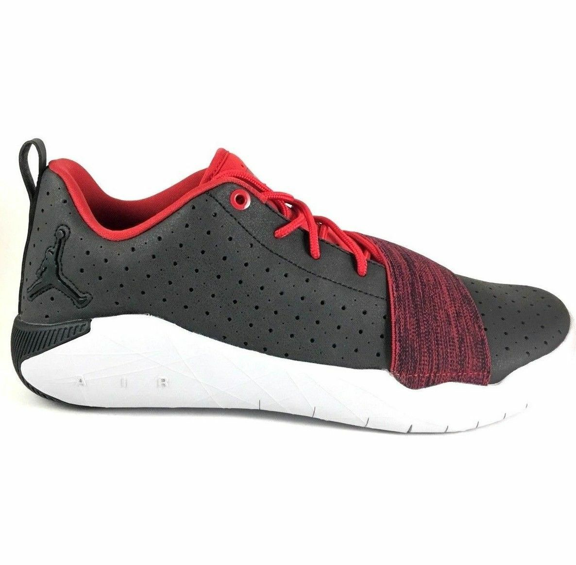 New Nike Jordan 23 Breakout Men's Shoes Grey Wolf Red 881449 002 Cheap women's shoes women's shoes