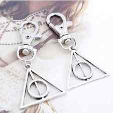 Magic Harry Potter Deathly Hallows Mini Metal Tool Key Chain Keyring Gift