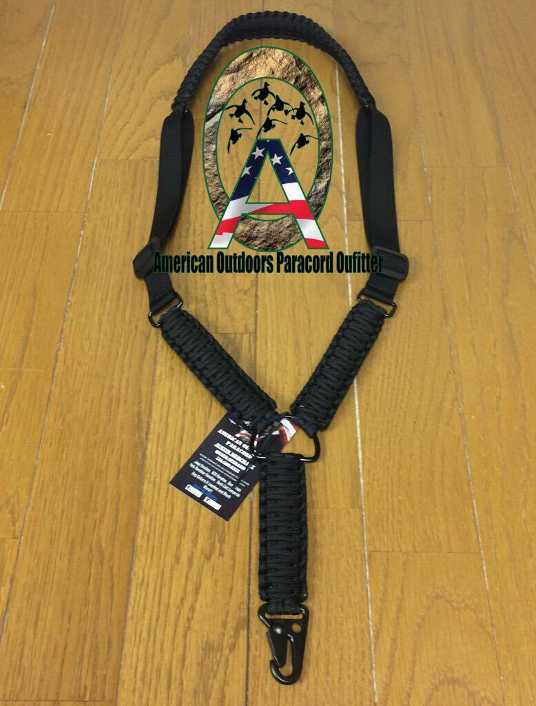 Adjustable Paracord Single Point Sling  (USA Made)  authentic