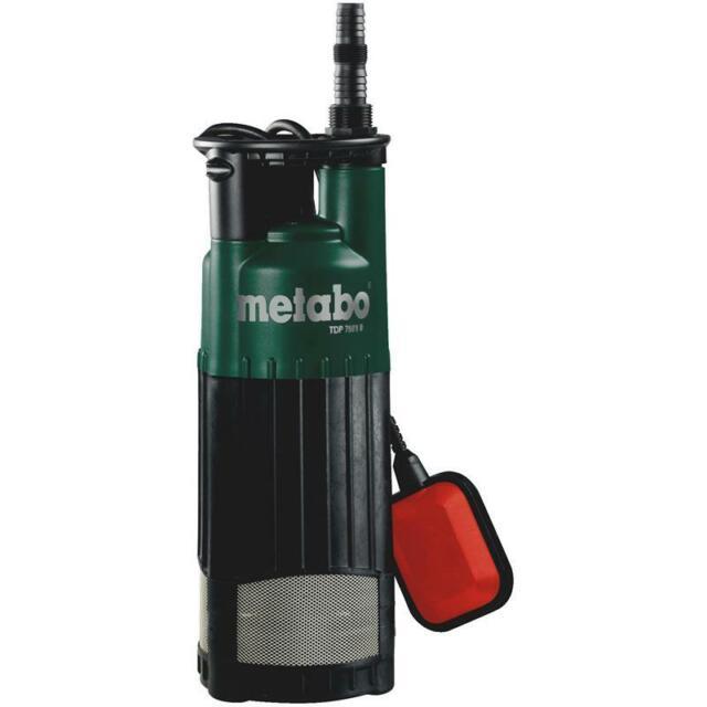 Metabo Pompe de Pression Immergée Tdp 7501 S Pompage Arrosage des Jardins