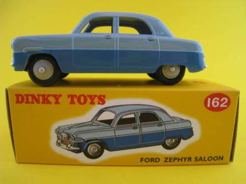 FORD ZEPHYR SALOON BLUE  DINKY TOYS JUNIOR 104  NEU  OVP