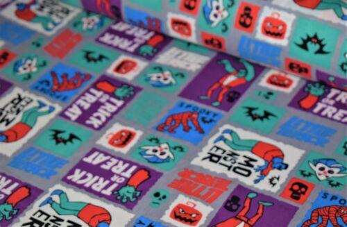 100/% Poplin Cotton Halloween Print Fabric
