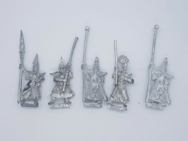 GW Warhammer Marauder Dark Elves Witch Elf  5 1995 AD/&D Drow Ranger Priestess