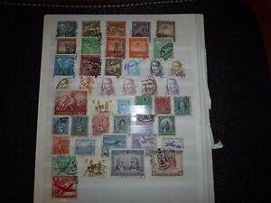 Chile Restsammlung mit Briefen