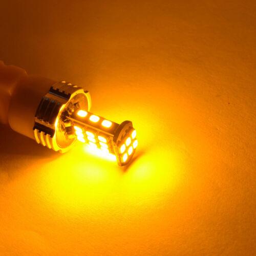Alla Lighting LED 3157 Turn Signal Blinker//Parking//Side Marker Light Bulb Yellow