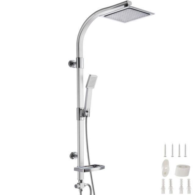 Regendusche Duschsystem Showerpipe mit Thermostat Regendusche Set Zwei Wege Bad