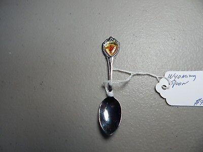 Souvenir Spoon Lot States Idaho Minnesota Kansas Wyoming Travel Collectible