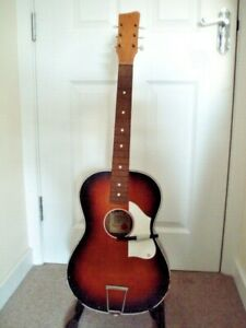 Old sixties/seventies Egmond acoustic guitar