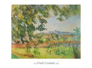 Paul-Cezanne-Le-Pilon-Du-Roi-Poster-Kunstdruck-Bild-80x60cm