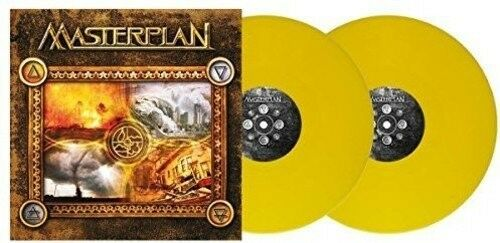 MASTERPLAN - MASTERPLAN (LIMITED ORANGE GTF.VINYL)  2 VINYL LP NEW!