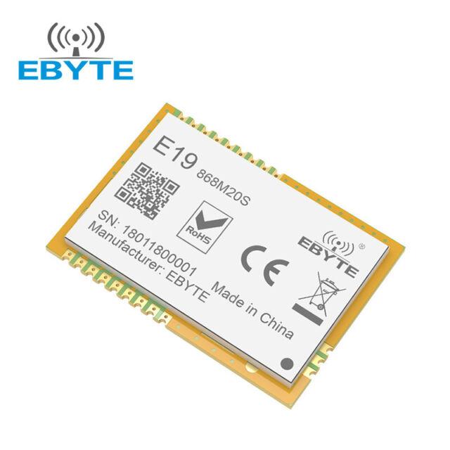 SX1276 SX1278 868MHz E19-868M20S 100mW 868 MHz Long Range RF LoRa Transceiver