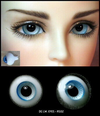 16mm grey color high quality glass bjd doll eyes dollfie luts kate wiggs JS-12