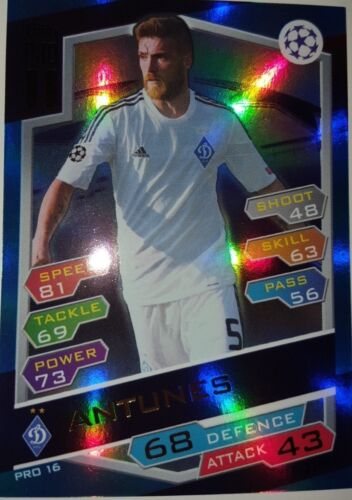 Match Attax Ligue des Champions 16 17 Limited Exclusive Nordic Edition Pro 11 Hero