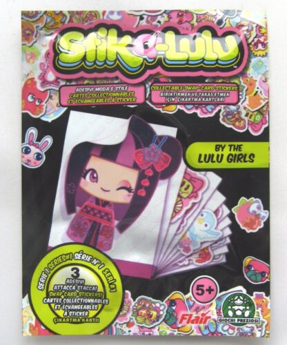STIK A-LULU TRADING CARD STICKERS 3 STICKER RANDOM BLIND BAG NEW /& SEALED!