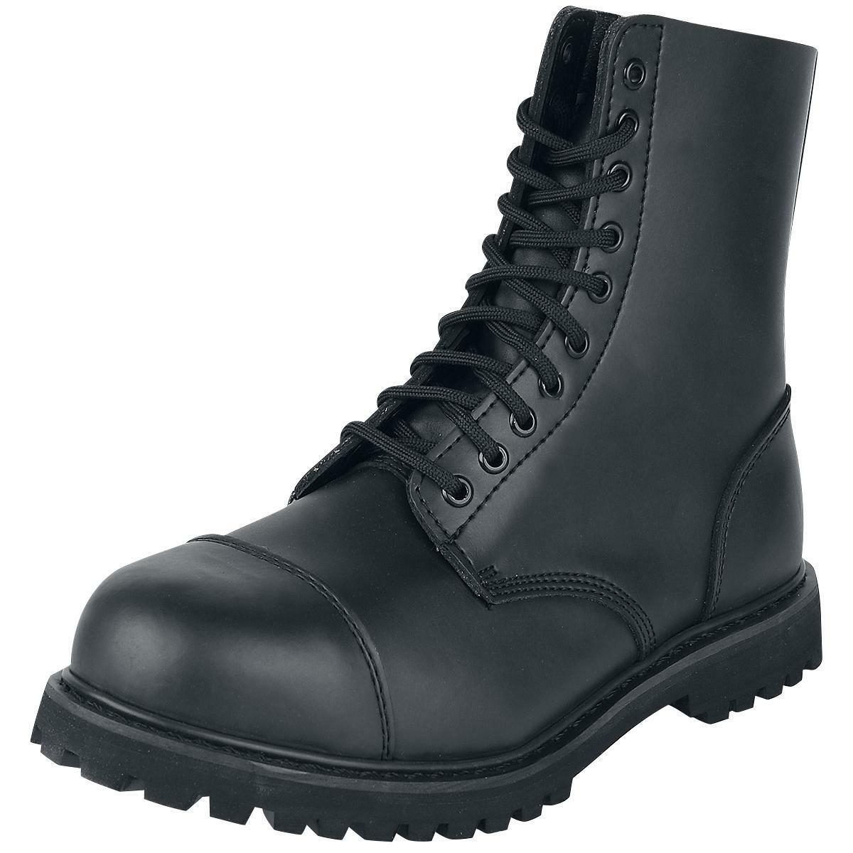 BRANDIT Anfibi Scarponi Stivali uomo donna militare Phantom stivali stivali stivali 10 eyelet 1be3df