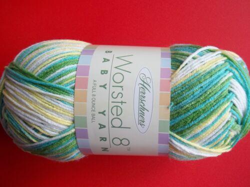 489 yds Kiddie Pool,1 large skein Herrschners Worsted 8 Baby variegated yarn
