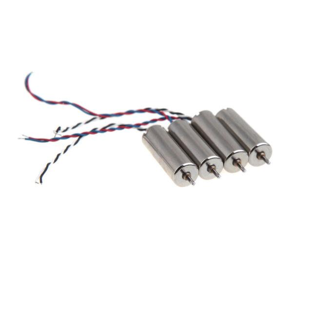 Véritable Hubsan X 4 Plus Pièce de Rechange Motos Paquet 4 - H107P - GB le Jour