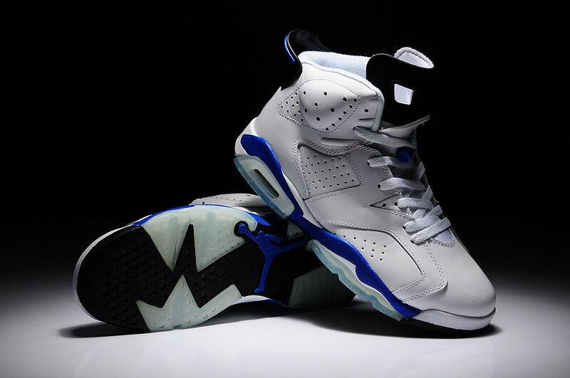 Nike Air Jordan 6 RETRO LS Sport Bianco Blu