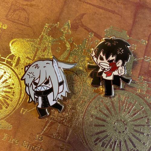 Hitman Reborn Vongola Varia Enamel Badge Brooch Pin Set Limit Collection N