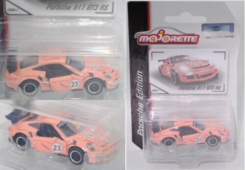 Hell-beigerot Porsche Edition 23 1:59 Majorette 212053057 Porsche 911 gt3 RS