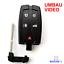 5 Boutons Boîtier Clé Stick pour Land Rover Freelander Télécommande-lrf2