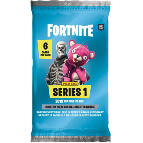 PANINI-Fortnite-Trading Cards 1 Booster