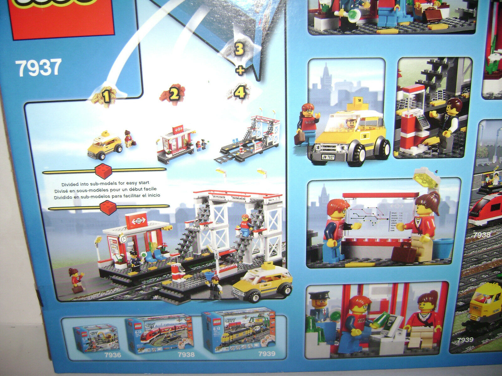 NEW 7937 Lego CITY Train Station LIMITED LIMITED LIMITED Building Toy SEALED BOX RETIRED RARE A 0939bf