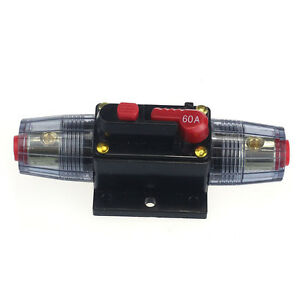 Car Accessory Auto Dc 12v Audio Stereo Circuit Breaker