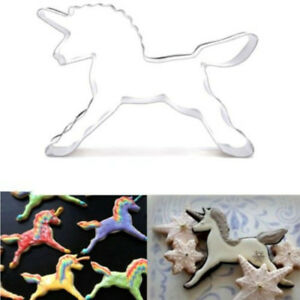 licorne cheval cookie cutter moule g teaux d coration biscuit p tisserie cuisson ebay. Black Bedroom Furniture Sets. Home Design Ideas