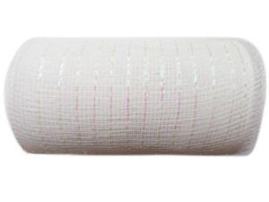 6 inch x 30 feet(10 Yards) -YYCRAF Metallic Deco Poly Mesh Ribbon U PICK