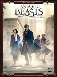Piano-Selections-From-Fantastic-Beasts-amp-Where-BOOK-NUOVO