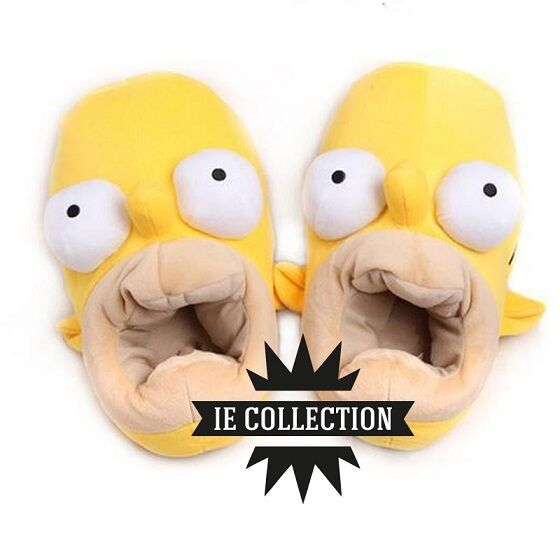 THE SIMPSONS HOMER slippers simpson soft toy slippers cosplay slippers slippers
