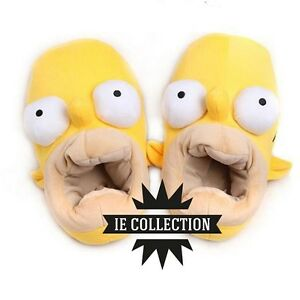 421c2c091a9d0 ... THE-HOMER-SIMPSONS-chaussons-peluche-pantoufles-cosplay
