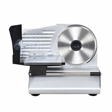 """Goplus 7.5"""" Blade Electric Meat Slicer Cheese Deli Meat Food Cutter Kitchen Home"""