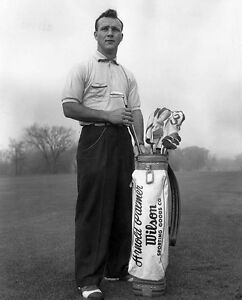 Young Arnold Palmer Golfing Greatin This Great 8x10 Photo Classic Ebay