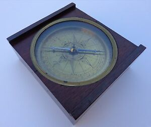 Extremely-Rare-Late-17th-Early-18th-Century-Z-Dutch-Netherlands-Marine-Compass