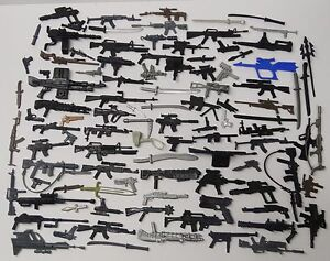 random-lot-60-GI-Joe-Cobra-figure-039-s-Accessories-different-Guns-sword-Weapons