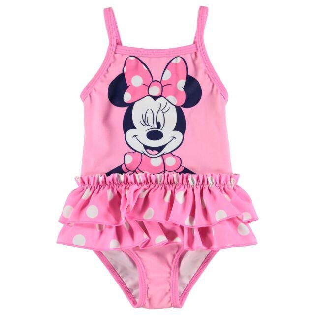 d1e778dc51bac Disney Minnie Mouse Swim Suit Baby Girl Pink Swimming Costume Beachwear