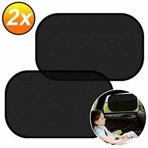 2x Sonnenschutz Auto Baby UV Schutz Sonnenschutz Netz Auto Kinder Heckscheibe